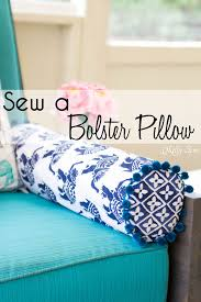 Sew Bolster Pillow Cover
