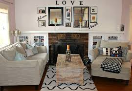 diy reclaimed wood rectangle living room large size inexpensive family room decorating ideas with simple square mantel congenial living