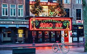 coffeeshop in amsterdam map