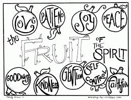 Small Picture Fruit Of The Spirit Coloring Page Coloring Home