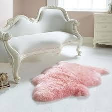 light pink fur rug single light pink sheepskin rug light pink faux fur rug