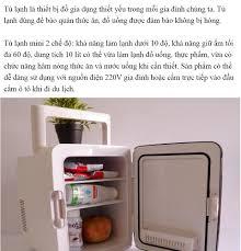 Tủ Lạnh Mini 2 Chiều Nóng Lạnh Dùng Trong Nhà Và Trên Ô Tô