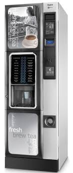Hot Drinks Vending Machine Amazing EVOCA OPERA IV FRESHBREW TEA Hot Drink Vending Machine Business