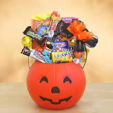 great pumpkin fun candy gift basket for kids
