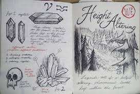 gravity falls journal 3 replica height altering by leoflynn