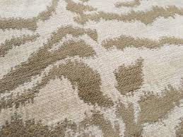 Jane Shelton Animal Skin Chenille Upholstery Fabric- Tigertooth Tan Bone  1.20 yd | #1920018334