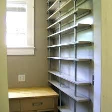 inexpensive diy shelves ideas wood bookshelves closet storage corner furniture wonderful close