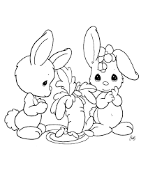 Small Picture Baby Bunny Coloring Pages akmame