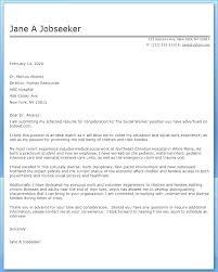 Cover Letter For Refugee Worker Social Worker Cover Letter Sample