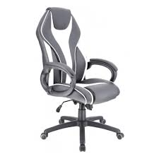 <b>Кресло</b> геймерское <b>Everprof Wing</b> Экокожа Белый — купить в ...