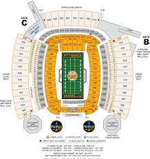Steeler Game Seating Chart Heinz Field Seating Chart Steelers Vs New England