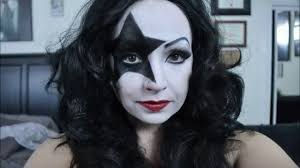 paul stanley starchild female makeup tutorial