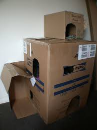 lovely design of the cardboard cat house with simple cardboard cardboard cat house plans