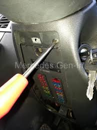 intermittent power problems mercedes sprinter first start by removing the under wheel door flap that covers the fuses on the distribution panel then remove the cowling that forms the lower part of the