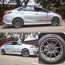 Toyota Vios with New 15 inch Advanti... - King of Rims Malaysia ...