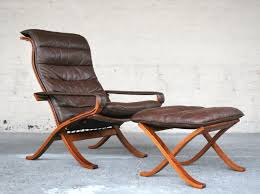 Furniture Retro Style Comfortable Living Room Chairs With Wooden