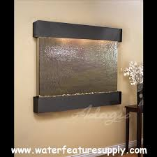 office water features. Adagio TF 1014 Teton Falls Wall Fountain - Rajah Featherstone, As Shown Office Water Features S