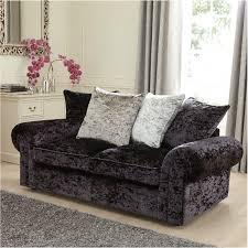 3 Seater Sofa Bed Laurence Llewleyn Bowen Scarpa 3 Seater Fabric Sofa Bed Black Grey