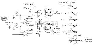 motor control circuit automation circuits next gr dc servo bipolar control