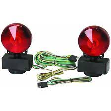 magnetic trailer lights new no wiring 12 volt magnetic towing light kit trailer vehicle boat world ship
