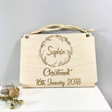 personalised christening naming day gift