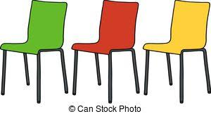 school chair drawing. Unique Chair Color Chairs  Hand Drawing Of Three Modern Color And School Chair Drawing W
