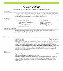 Dishwasher Resume Custom Dishwasher Job Description For Resume Luxury Dishwasher Resume Free