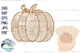Halloween svg zentangle pumpkin svg doodle pumpkin. Pumpkin Zentangle Svg Pumpkin Mandala Svg Fall Svg Kreativ Graphic