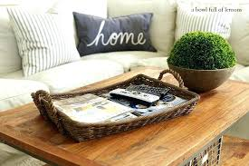 decorative coffee table items bowls books trays creative of for tables decorating licious t