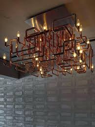 copper pipe light copper pipe lovely project for the adventurous via copper pipe light fixture diy