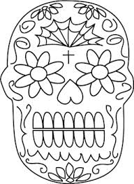 Small Picture Skull Day Of The Dead Masks Coloring PageDayPrintable Coloring