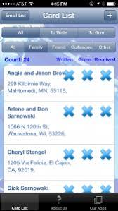 christmas card list app christmas card list app favorite organizing apps pinterest app