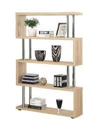 modern furniture design wooden book rack wall