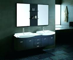 compact double sink vanity. vanities: narrow double sink bathroom vanity mirrors for vanities depth compact i