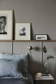 warm grey bedroom. Exellent Bedroom Warm Grey Wall Blue Linen More Inside Warm Grey Bedroom