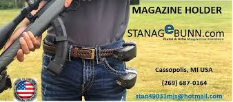Magazine Belt Holder STANAGeBUNN Magazine Holder 84
