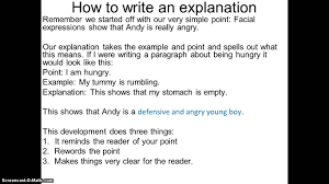How To Write A How to write an explanation YouTube 20