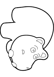 Small Picture Download free baby hippo coloring page