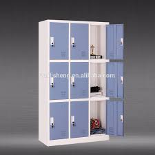 9 Door Unturned Metal School Locker Metal Storage Locker - Buy ...