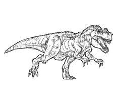 Small Picture httpColoringToolkitcom Tyrannosaurus Rex Coloring Page