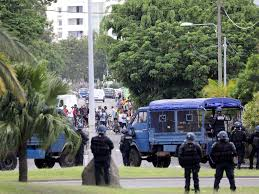 France Sends Troops To Reunion Island As Looting And Riots Break Out