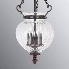 antique bronze glass pendant lamp finsbury park 3048571 01