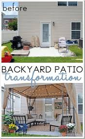 concrete slab patio makeover. Fine Makeover Concrete Slab Patio Makeover Inspirational 9 Best Relaxing Areas Images On  Pinterest Of In A