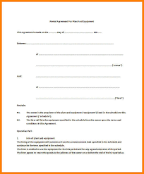 Basic Renters Agreement.simple Lease Agreement Template 19 Basic ...