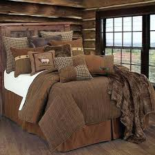 lodge comforter sets cabin style bedding design rustic