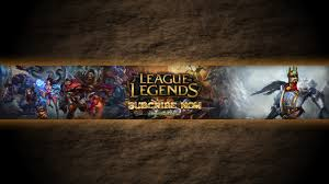 League Of Legends Youtube Channel Art Banners