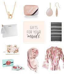 modern bridesmaid gift ideas from the brides maids 100 layer cake