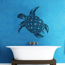 Wall <b>Sticker</b> Whale Turtle <b>Animal</b> Pattern Bathroom <b>Toilet Sticker</b> ...