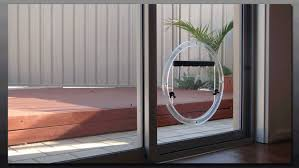 dog door sliding glass door tall
