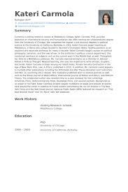 Research Scholar Resume Samples Visualcv Resume Samples Database